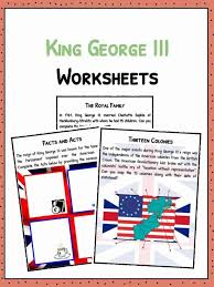 King George III Facts, Biography & Worksheets For Kids