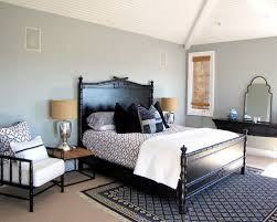 black lacquer bedroom furniture. inspiration for a victorian carpeted bedroom remodel in orange county with gray walls black lacquer furniture