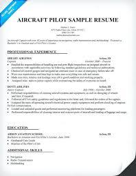 Pilot Resume Template Pilot Resume Template Pilot Resume Template