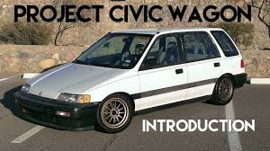 Project Civic Wagon | Maintenance for Daily Driving - EF - YouTube