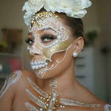 sugar skull makeup a simple guide for day of the dead
