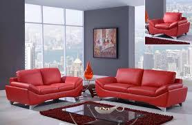 beautiful design ideas red leather sofa set 23