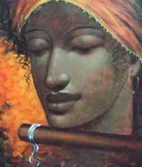 myindianart original painting by rabin mandal