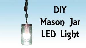 mason jar pendant lighting. DIY Step By Tutorial Mason Jar LED Hanging Light - Pirate Lifestyle TV ™ Episode 042 YouTube Pendant Lighting