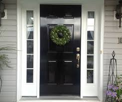 Exterior door painting ideas Green Diy Lessons Learned Painting My Front Door Black Xmas Pinterest Black Front Doors Painted Front Doors And Doors Pinterest Diy Lessons Learned Painting My Front Door Black Xmas Pinterest