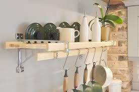 iron pan racks kitchen pot racks