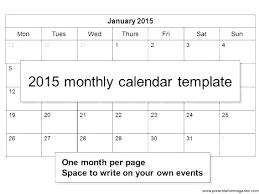 Editable 2015 Calendar Template Excel Calendars Free Monthly