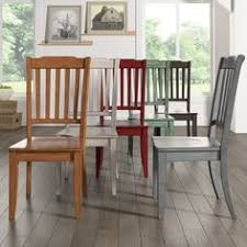 eleanor slat back wood dining chair set of 2 by inspire q clic