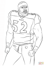 Small Picture Ray Lewis coloring page Free Printable Coloring Pages