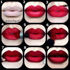 step by step ombre lip tutorial the guide to making insram makeup trends wearable