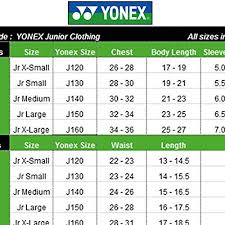 Yonex Junior Badminton Kit Set Of Tshirt And Shorts