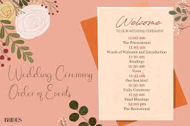 An Easy Breakdown Of Traditional Wedding Ceremony Order