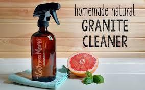 how to make homemade natural granite cleaner