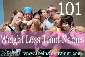 weightloss group more weight loss team name ideas the inside trainer inc