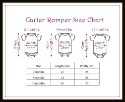 Carters Boys Size Chart Best Picture Of Chart Anyimage Org