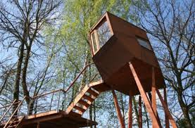 Modern Tree Living Creative Treehouse Designs Plans