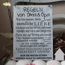 Geschenk Oma Opa In Deko Schilder Tafeln Günstig Kaufen Ebay