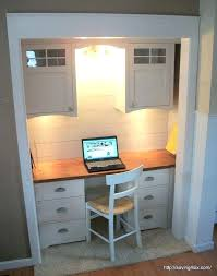 diy closet office. Diy Closet Office. Brilliant Desk Office Unique Small  Turned Into Intended O