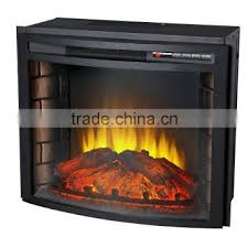 csa ce approved decor flame electric fireplace main material steel and resin for indoor use