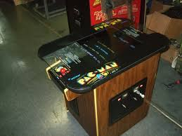 Cocktail Arcade Cabinet 285 Bally Midway Pacman Cocktail Table Arcade Video Game