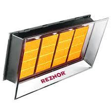product gas radiant rihvn reznor rihvn