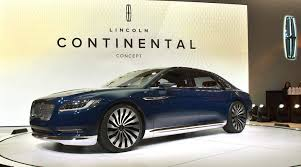 lincoln continental 2015. the lincoln continental debuts at 2015 ny auto show