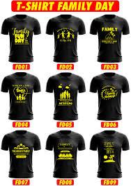 Design Baju T Shirt Family Day