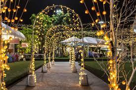 lighting decoration for wedding. 1. The Light Arches Lighting Decoration For Wedding