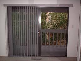 electric patio door shades