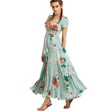 Boho Women Summer Dress 2018 Bohemian Elegant Beach Long ...