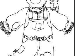 scarecrow coloring pages printable free printable scarecrow coloring pages printable scarecrow coloring pages print color craft