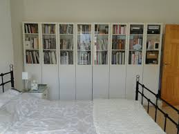 styling the ikea billy bookcases oxberg glass doors
