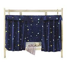 JIAHG Students Dormitory Bunk Bed Curtains Single Bed Tent Curtain Shading Nets Dustproof Blackout Cloth Bed Canopy Mosquito Protection Net Bedroom ...