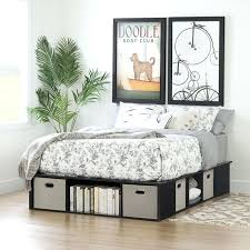 Platform Beds With Storage Underneath King Bed With Storage