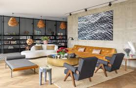 a pair of design pros take a newly built beirut flat from generic to singularly stylish with vine furniture handmade touches and y textures