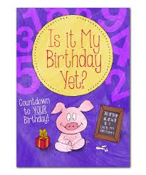 all gone birthday countdown personalized book