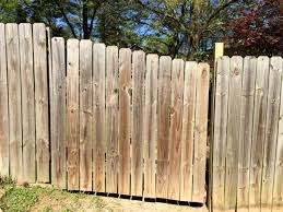 wood picket fence gate. Fixed Fence Gate That Can Now Open Properly Wood Picket T