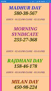 Morning Syndicate Panel Chart Madhur Morning Kanpur Satta Matka News Kanpur Matka Madhur