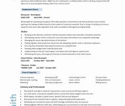Cook Resume Objective Cook Resume format Fresh Cook Resume Objective] Chef Resume 43
