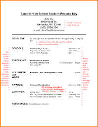 Resumes For High School Students 24 resume examples for highschool students appeal leter 12