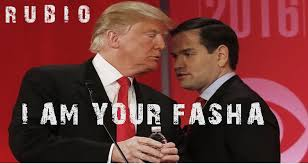 Resultado de imagen para imagenes de Trump y Marcos Rubio