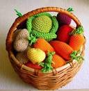 Вязать фрукты и овощи