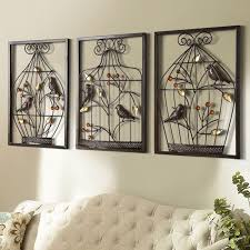 wall hangings for office. Bird Flower Iron Cage Wall Mural Creative Home Furnishing Stereo Background Hanging Decorations Office Hangings For Y