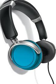 auvio color headphones blue radioshack auvio color headphones blue