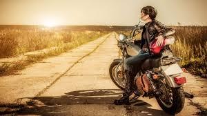 biker girl 4k ultra hd wallpaper ...
