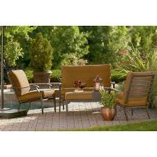 jaclyn smith kingsbury conversation replacement cushion set garden jaclyn smith patio furniture