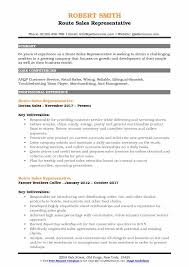 route sales resume route sales representative resume samples qwikresume