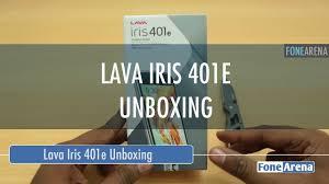 Lava Iris 401e Unboxing - YouTube