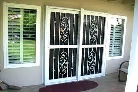 sliding patio door lock security door for sliding patio door sliding glass door security door designs