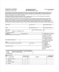 Residential Electrical Inspection Checklist Template